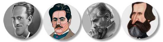 Gershwin, Puccini, Bernstein, Verdi