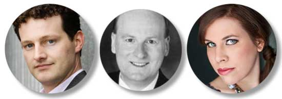 Ken Lavigne, David Boothroyd, Michelle Koebke